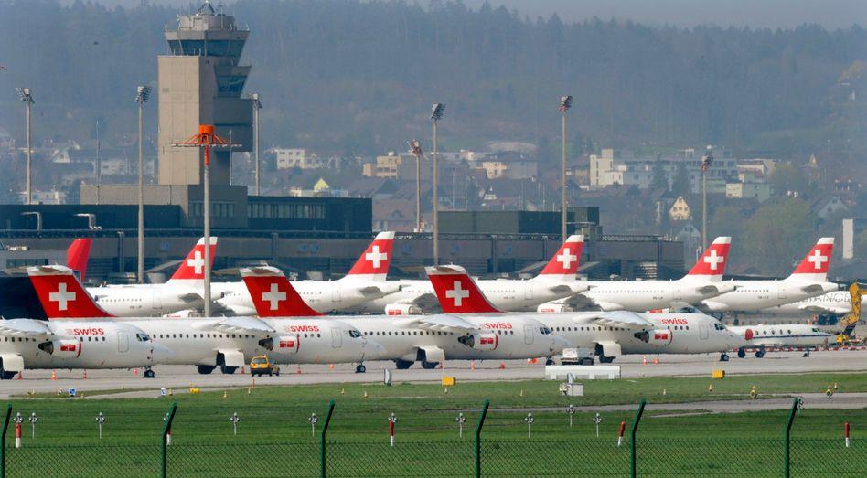 Maschinen der Fluggesellschaft Swiss: Zwischen 30 und 110 Franken