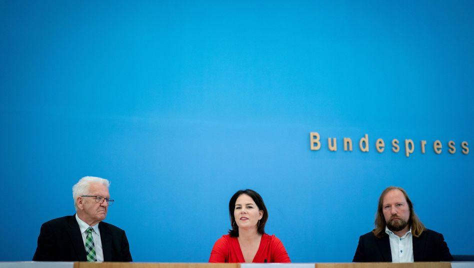 """Grünen-Chefin Annalena Baerbock: """"Da würde jeder zittrig werden"""""""