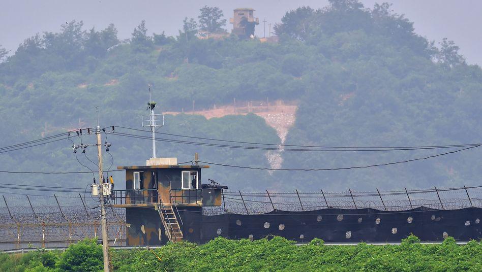 """Innerkoreanische Grenze: """"Harte Bestrafung"""""""