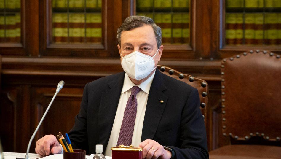 Mario Draghi, Ex-Chef der Europäischen Zentralbank, soll in Italien eine neue Regierung bilden