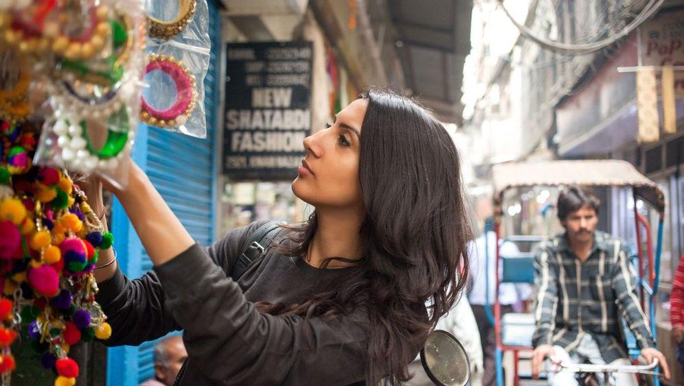 Neu-Delhis großer Paillettenmarkt: Die Weltverschönerer