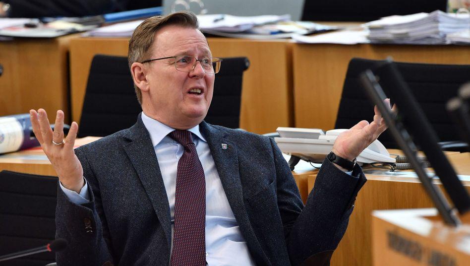 Thüringens Ministerpräsident Bodo Ramelow (Archivbild)