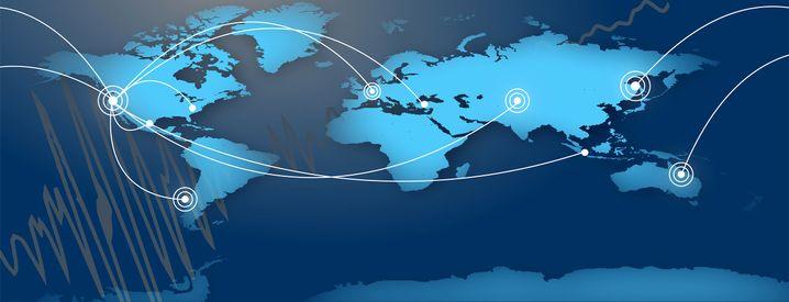 Weltkarte der MyShake-App: Alarm geben, bevor die Erde wackelt