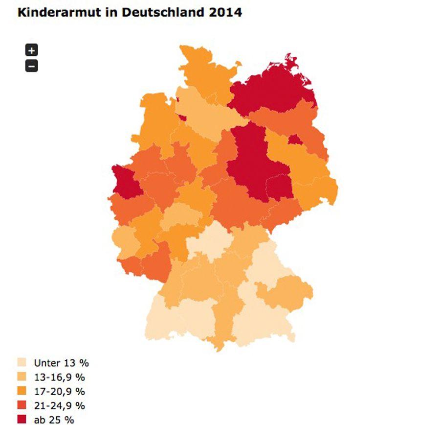 EINMALIGE VERWENDUNG Kinderarmut in Deutschland 2014