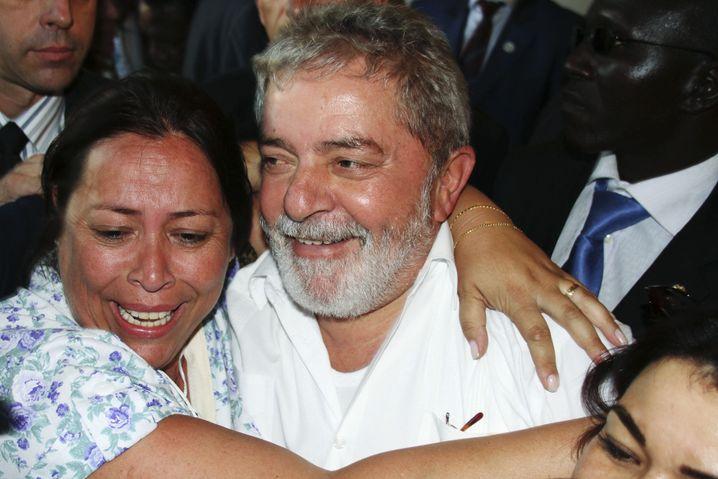 Brasiliens Ex-Präsident Lula (im Senegal 2011): Jahrelanges Engagement in Afrika