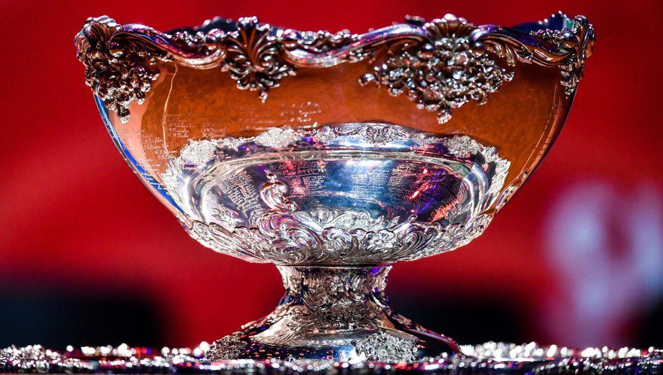 Die Davis-Cup-Trophäe