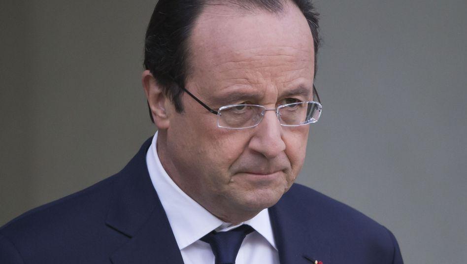 """Staatspräsident Hollande: Hoffen auf den """"Pakt der Verantwortung"""""""