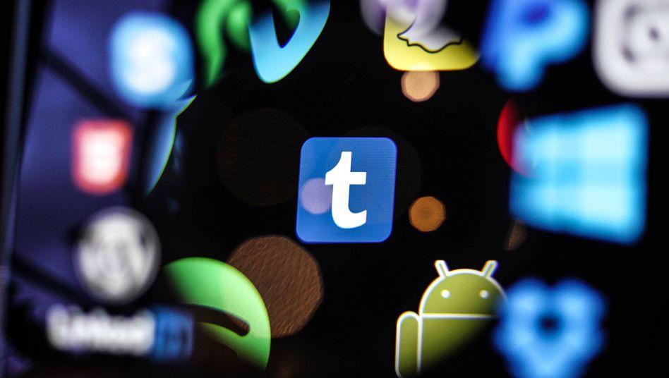 Tumblr zählte mal zu den angesagtesten Webdiensten - auch, weil dort pornografische Bilder Material unkompliziert zugänglich waren
