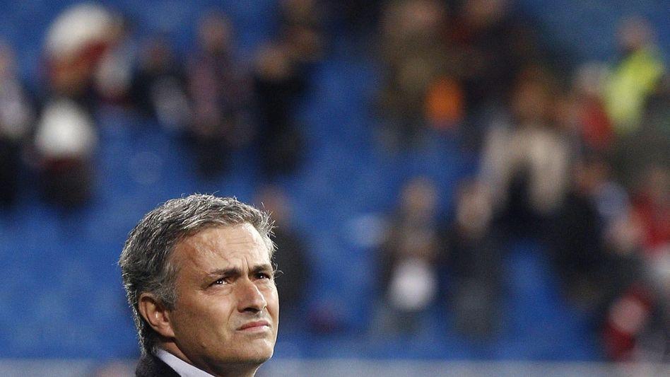 Real-Trainer Mourinho: Seit Wochen massiv in der Kritik