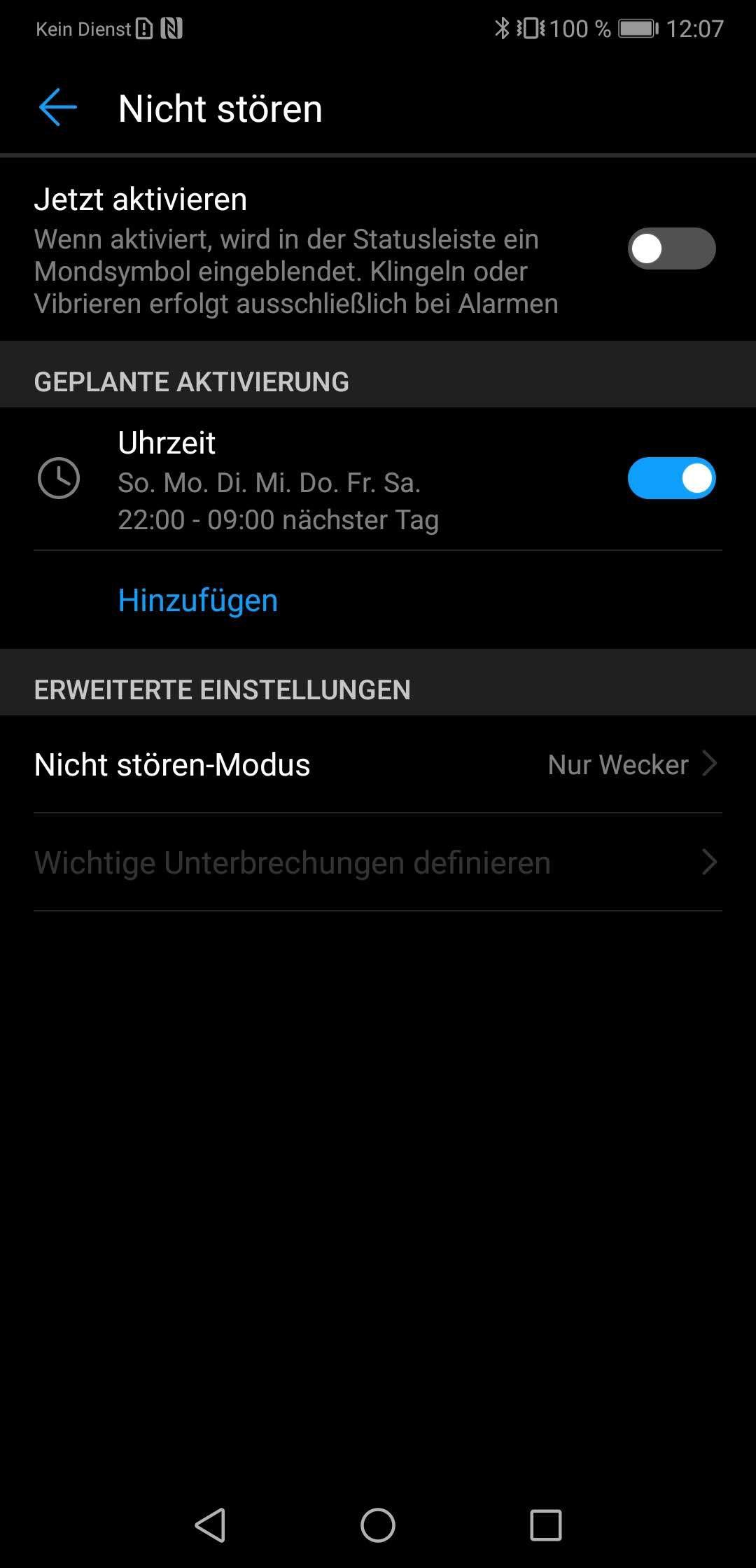 NUR ALS ZITAT Screenshot Android-Tipps/ Nicht stoÌren