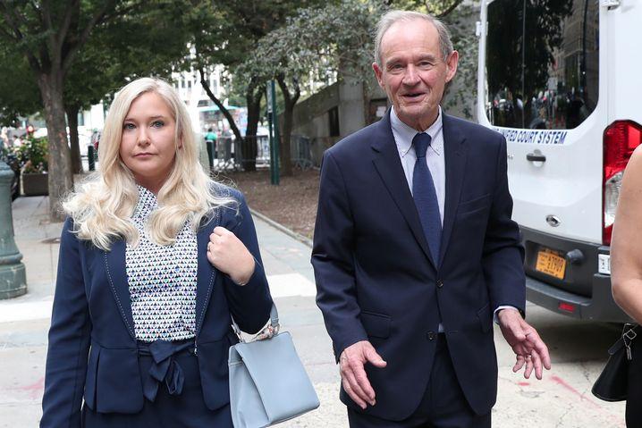 Staranwalt David Boies, hier mit dem mutmaßlichen Jeffrey-Epstein-Opfer Virginia Giuffre
