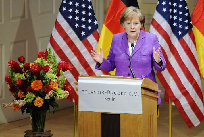 """Kanzlerin Merkel in Washington: """"Wir hatten vielfältige Möglichkeiten"""""""