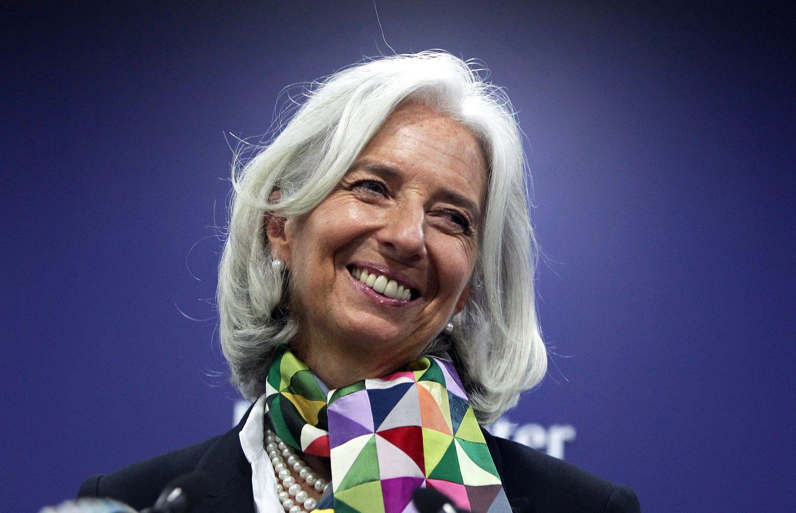 Davos-Quartett / Christine Lagarde