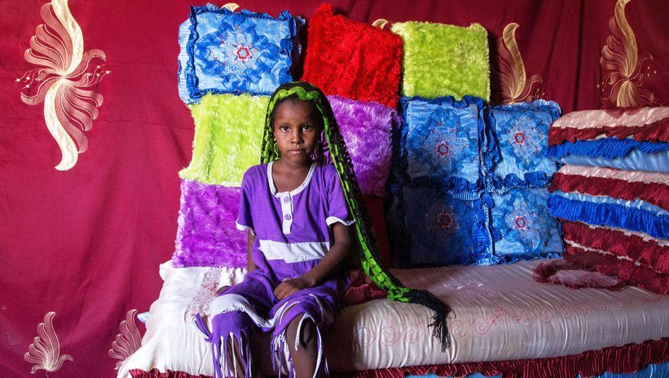 Mädchen im Tschad: Vier von zehn jungen Frauen in West- und Zentralafrika heiraten vor ihrem 18. Geburtstag