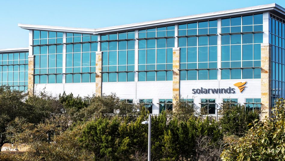 SolarWinds-Zentrale in Austin, Texas