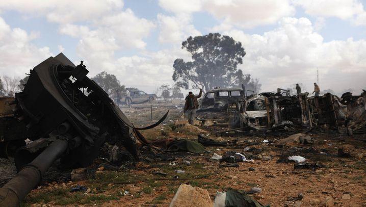 """Gefechte in Libyen: """"Die Welt geht zur Hölle"""""""