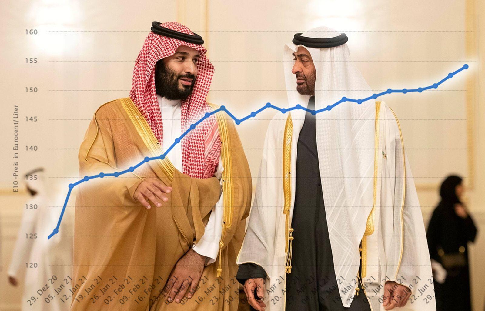 181123 ABU DHABI Nov 23 2018 Sheikh Mohamed bin Zayed Al Nahyan R crown prince of Abu