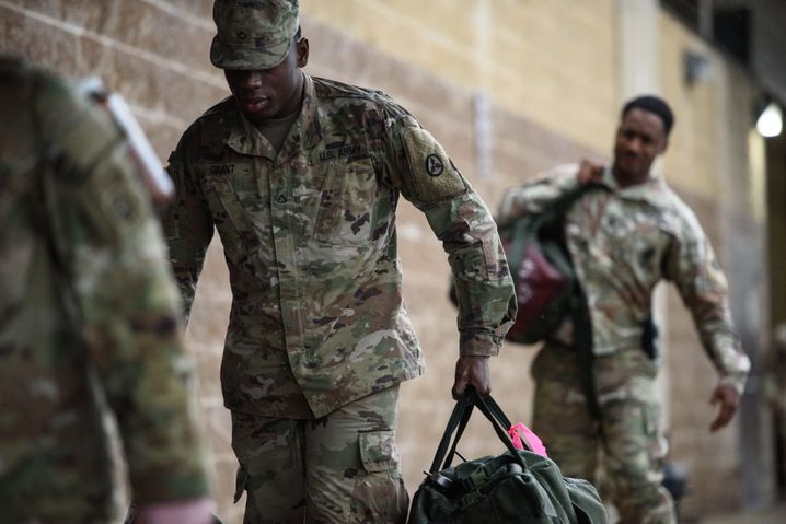 Americans are suffering from war fatigue, but additional troops are still being dispatched to the Middle East from bases like the one at Fort Bragg, North Carolina.