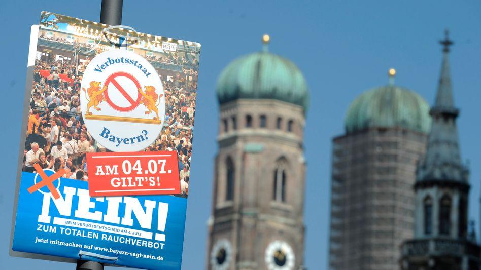 Volksentscheid in Bayern: Bald wird hier Deutschlands schärfstes Rauchverbot gelten