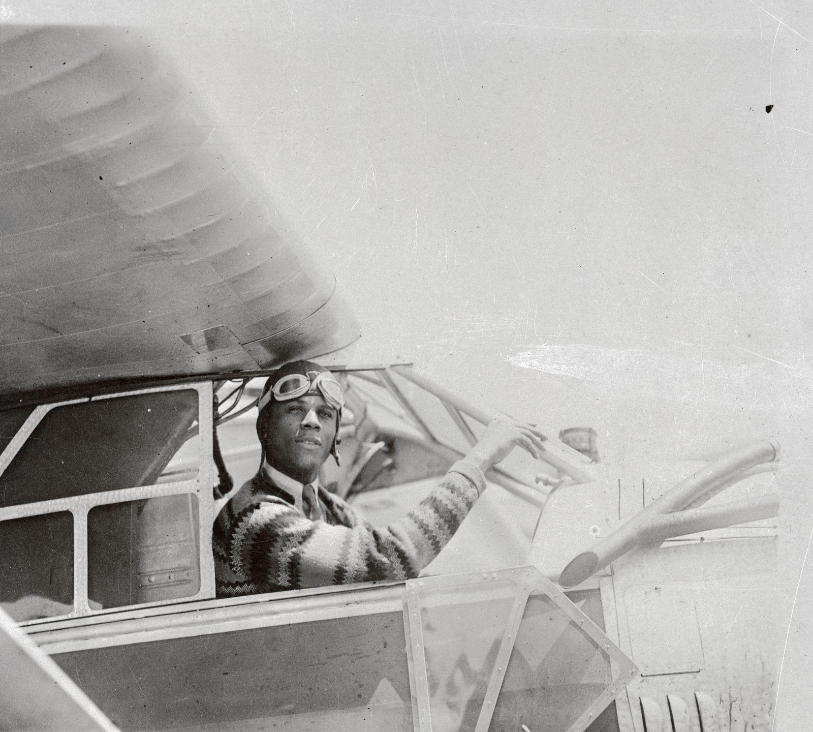 Portrait of Hubert Julian