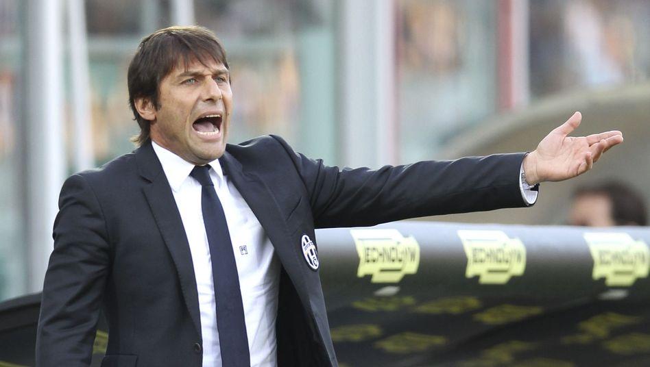 Coach Conte: Rückkehr auf die Juve-Bank