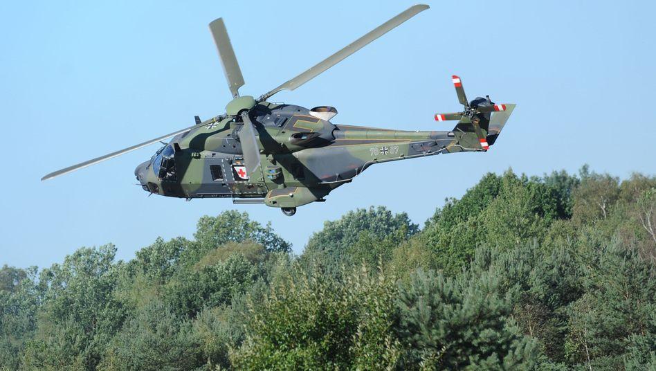 """Transporthubschrauber NH90: Ministerium verfehlt laut Bundesrechnungshof die """"angestrebten Einsparungen"""""""