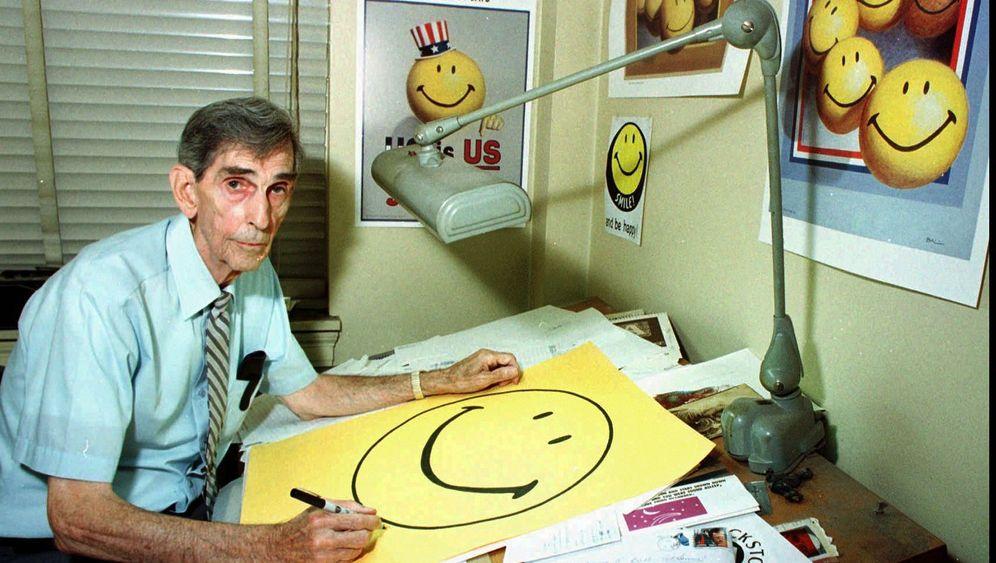 Smiley-Erfinder: Millionen für ein Lächeln