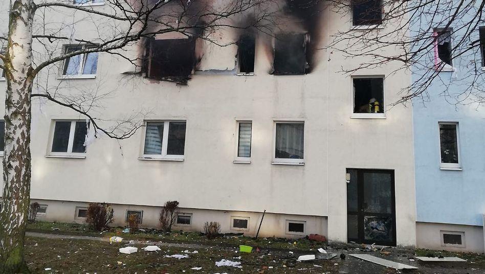 Blankenburg in Sachsen-Anhalt: Die Hintergründe der Explosion sind noch unklar