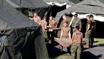 Kanada: Armee errichtet Zelte für Flüchtlinge aus den USA