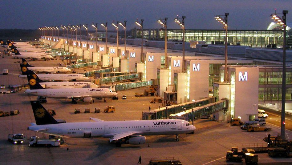 Der Münchner Flughafen: Die Lufthansa freut sich über die dritte Bahn