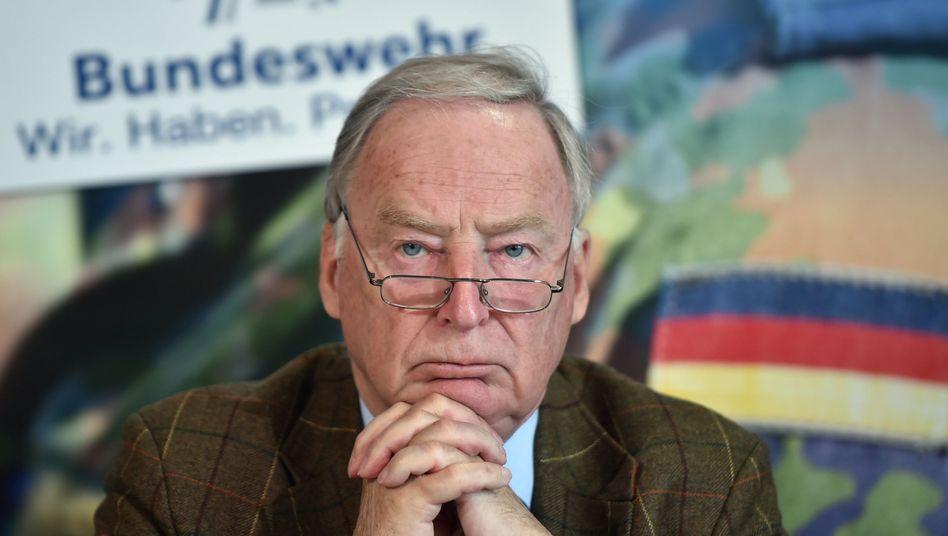 AfD-Spitzenkandidat Alexander Gauland (Archivbild)