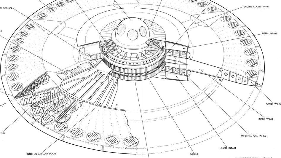 Konstruktionszeichnung von »Project 1794«