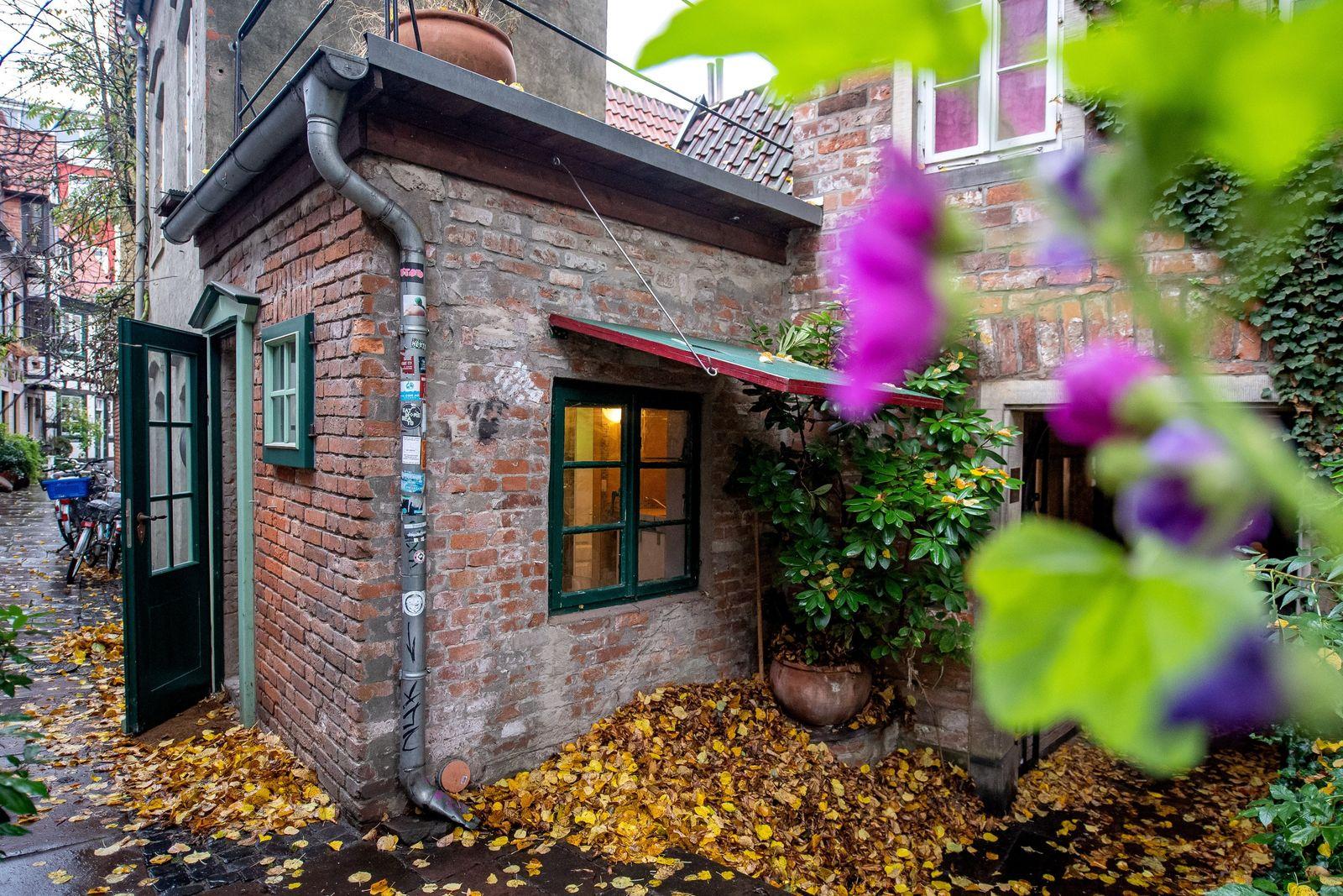 Bremens kleinstes Haus zu verkaufen