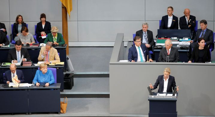Weidel am 11. September im Bundestag: Angriffe gegen Merkel