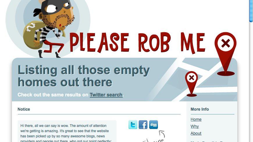 PleaseRobMe outet Social-Webseiten als potentielle Einbruchshilfe: Was zu beweisen war