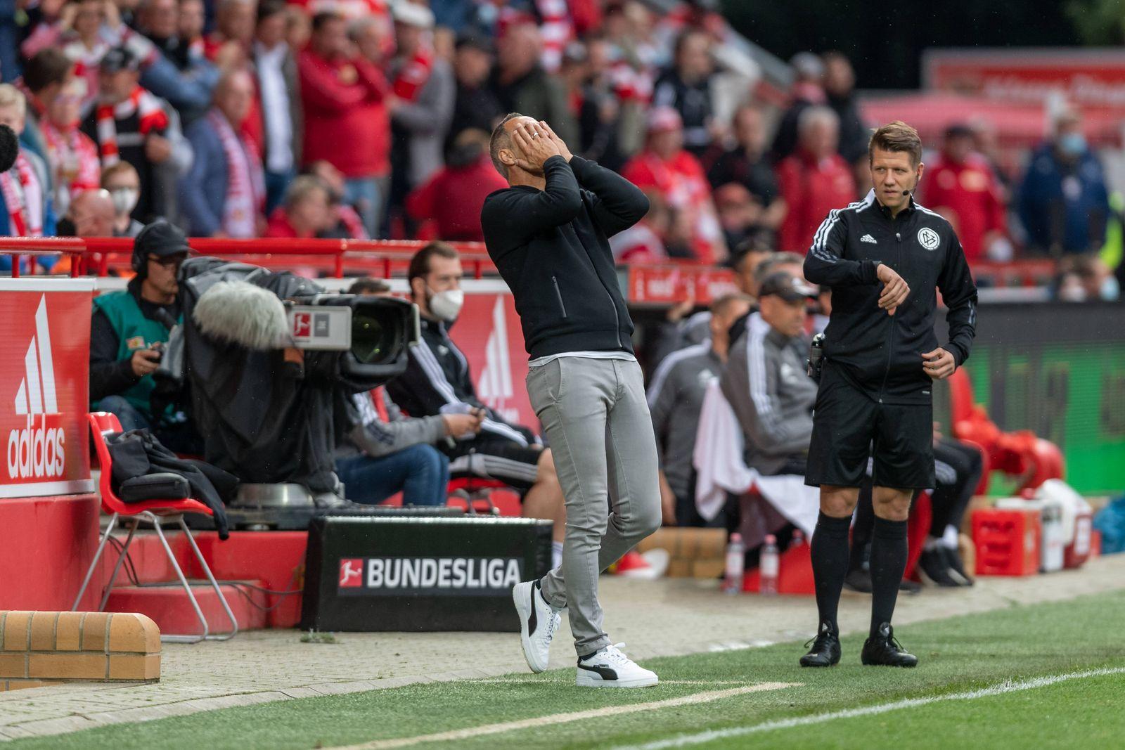 Fussball Berlin 29.08.2021 Saison 2021 / 2022 1. Bundesliga / DFL 1. FC Union Berlin vs Borussia Mönchengladbach Adolf