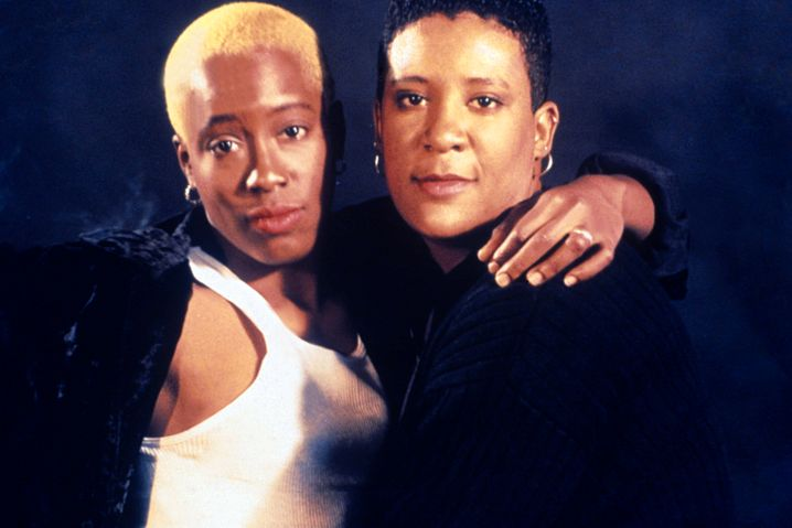 """Cheryl Dunye (links) und Valerie Walker als Cheryl und Tamara in """"Watermelon Woman"""""""