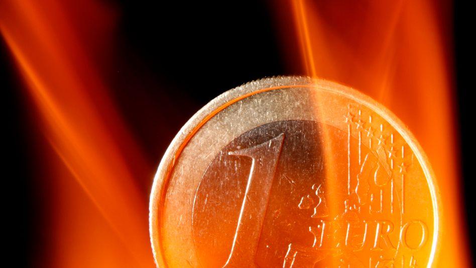 Problemfall Euro: Die Euro-Zone als Ganze steht gar nicht so schlecht da