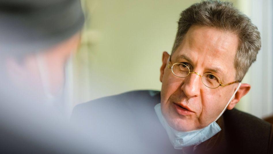 Kandidiert für die CDU in Südthüringen um ein Bundestags-Direktmandat: Hans-Georg Maaßen