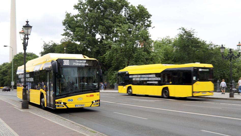 E-Busse in Berlin: »Wir sind nicht mehr in der Testphase«