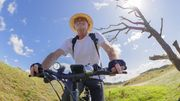 Warum Radfahren gleich doppelt schützt