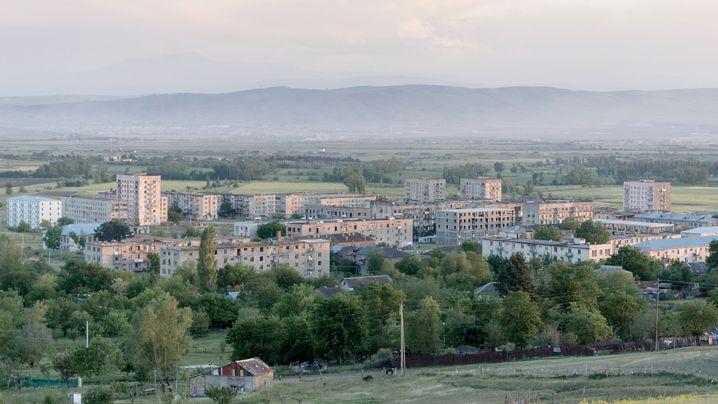 Georgische Siedlung: Leben in Vaziani