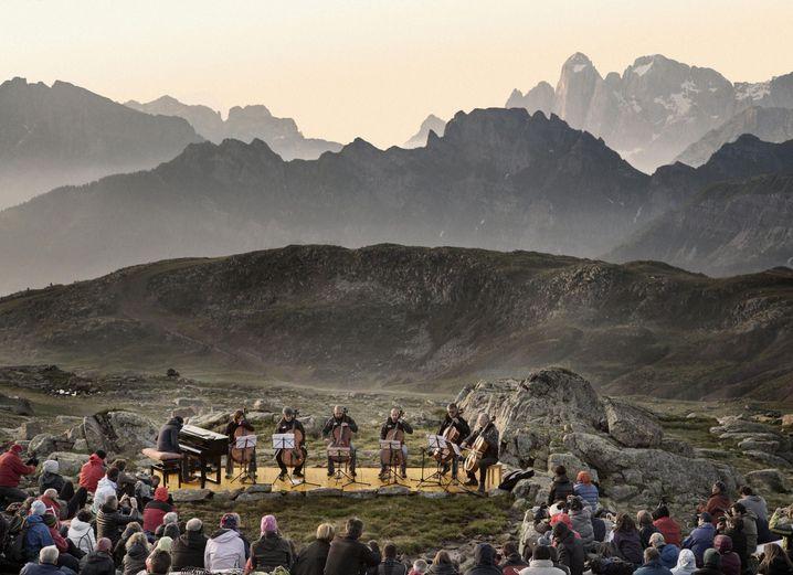 Klingende Dolomiten: Konzert für Wanderer