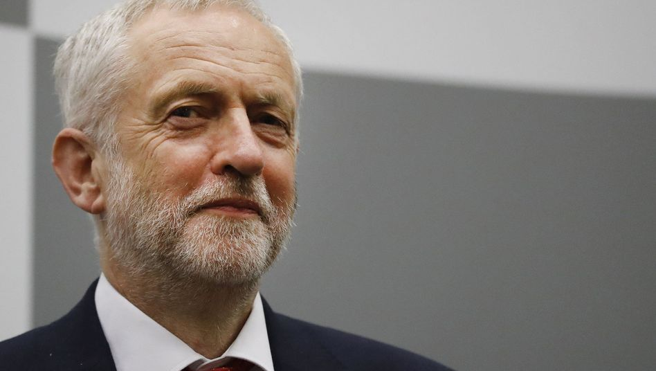 Labour-Chef Corbyn in London