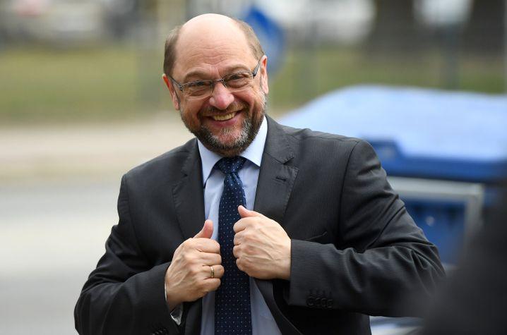 SPD-Kanzlerkandidat und Parteichef Schulz