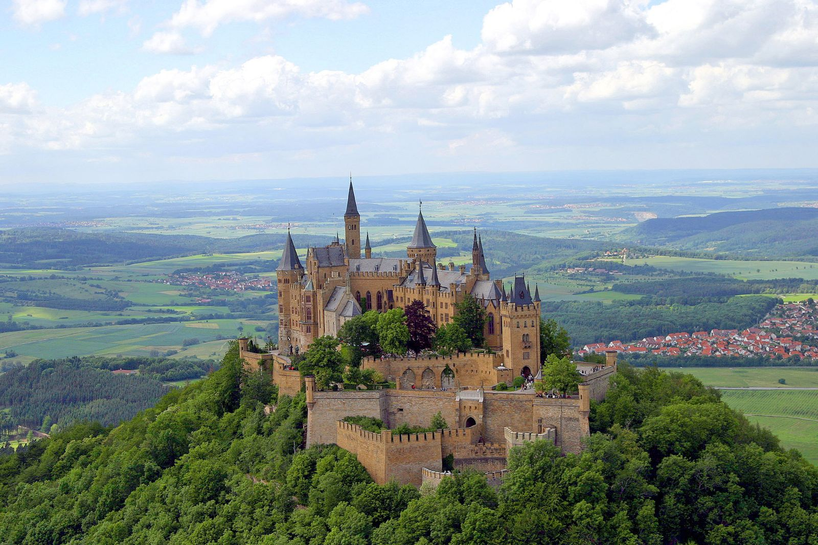 Burg Hohenzollern in Hechingen