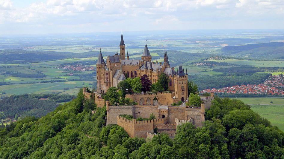 Burg Hohenzollern: Stammsitz der ehemaligen Kaiserfamilie