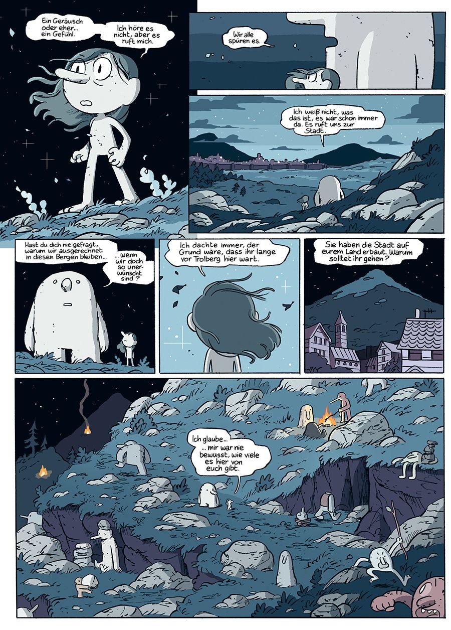 EINMALIGE VERWENDUNG Kultur/ Comic/ Hilda und der Zauberberg