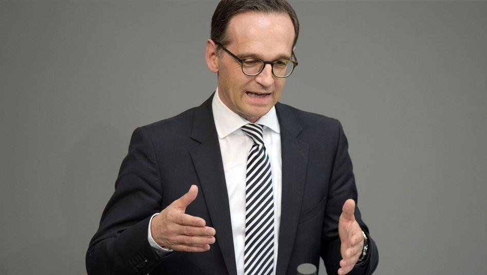 Justizminister Maas: Kein Abrücken vom Anti-Doping-Gesetz