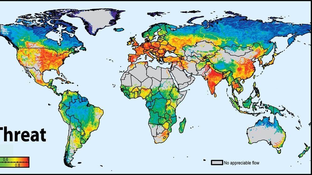 Zustand der Flüsse: Giftcoctail stromabwärts